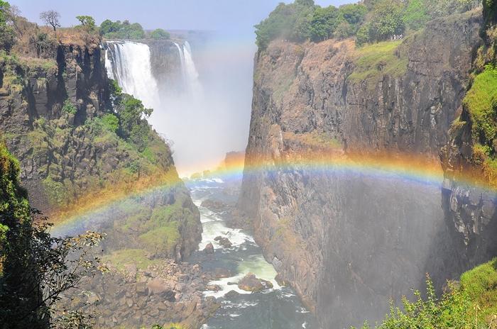 ビクトリアの滝(ジンバブエ)画像