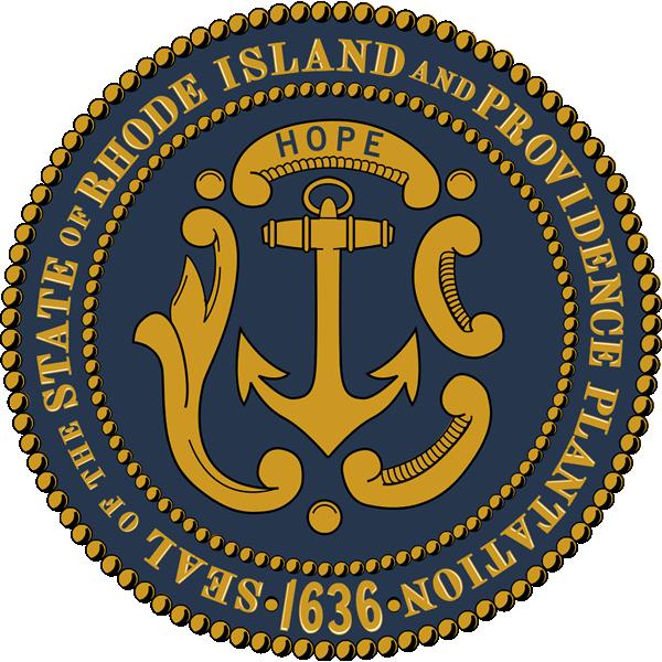 ロードアイランド州の紋章