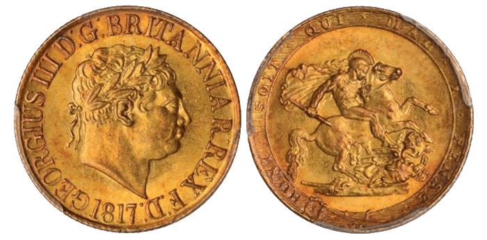 ソブリン金貨(ジョージ3世)
