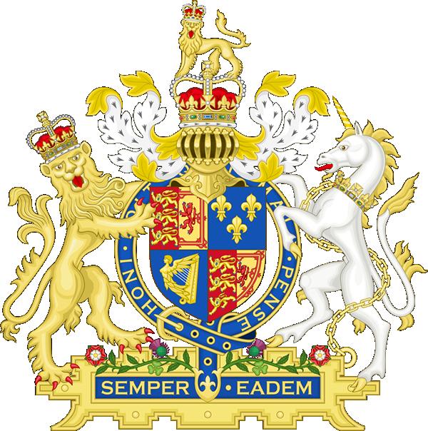 アン女王時代ののイギリスの紋章
