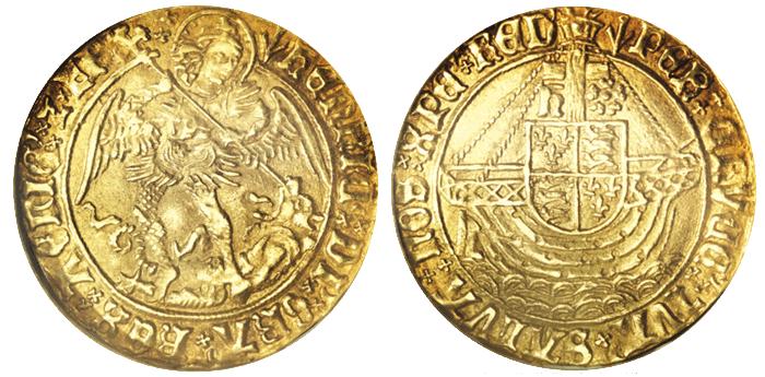 エンゼル金貨(ヘンリー7世)