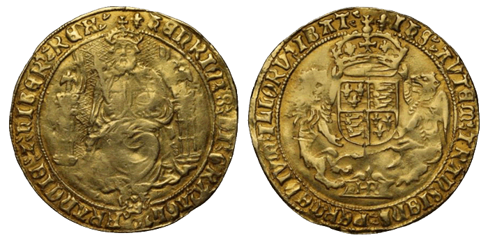 ソブリン金貨(ヘンリー8世)