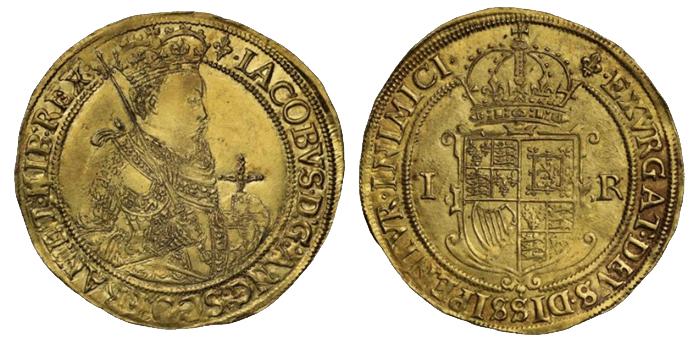 ソブリン金貨(ジェームズ1世)