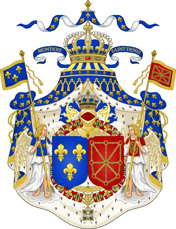 ブルボン朝時代のフランスの紋章