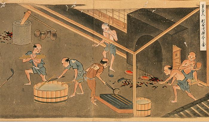 棹金の製造方法イメージ