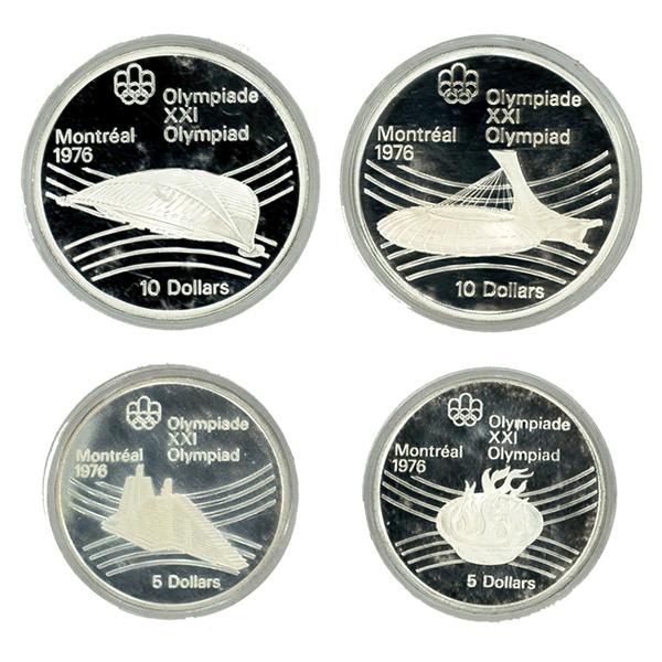 モントリオールオリンピック記念コイン