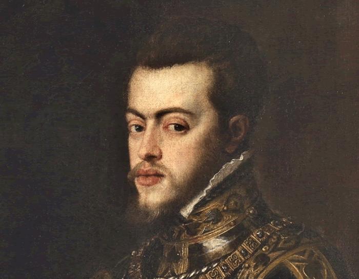 フェリペ2世の肖像画