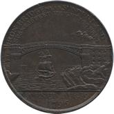 イギリス ダラム・サンダーランド 1ペニー銅貨