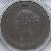 イギリス  ヴィクトリア  10セント試鋳青銅貨 十進法試鋳貨[PF FDC]
