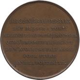 フランス ナポレオン1世 銅メダル ドゼー将軍追悼記念[AU/UNC]【裏面】