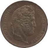 フランス ルーアン造幣局訪問記念5フラン銅貨[UNC]