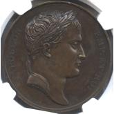 フランス ナポレオン1世 ローマへの進軍記念銅メダル[FDC]
