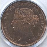 ジャージー ヴィクトリア 1/48シリング銅貨[PF FDC]
