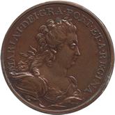 ポルトガル マリア1世  1ペカ銅貨[AU/UNC]