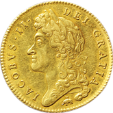 イギリス  ジェームズ2世  金貨