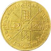 イギリス  ジェームズ2世  金貨【裏面】