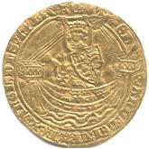 イギリス  エドワード3世  ノーブル金貨[F]