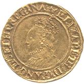 イギリス エリザベス1世  1/2ポンド金貨[VF+]