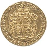 イギリス ジョージ2世  1ギニー金貨  オールドヘッド[VF]【裏面】