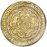 イギリス メアリ1世金貨【裏面】