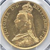 イギリス ヴィクトリア女王 5ポンド金貨 ジュビリー[AU+]