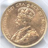 カナダ ジョージ5世 10ドル金貨[AU/UNC]