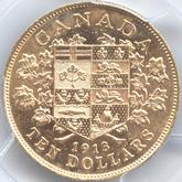 カナダ ジョージ5世 10ドル金貨[AU/UNC]【裏面】