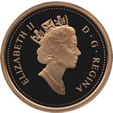 カナダ エリザベス2世 5ドル金貨[PF FDC]