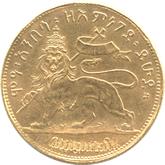 エチオピア 1/4ビル金貨 (2ワーク金貨)[EF]