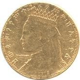 エチオピア 1/4ビル金貨 (2ワーク金貨)[EF]【裏面】