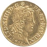 フランス ルイ14世 1ルイドール金貨[AU/UNC]