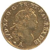 フランス ルイ15世 ルイドール金貨[VF]