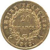 フランス ナポレオン1世 20フラン金貨[-EF]【裏面】