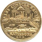 ドイツ レーゲンスブルグ 1ダカット金貨 フランツ2世 都市景観[EF]