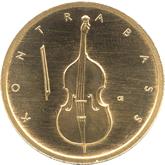 ドイツ コントラバス 50ユーロ金貨[UNC]