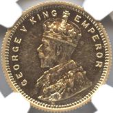 英領インド ジョージ5世 15ルピー金貨[PF AU/UNC]