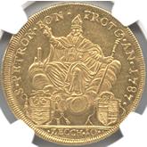 Italy Papal States  Bologna, 10Zecchini, Pius VI[AU]