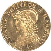 イタリア ピエモンテ共和国 20フラン金貨[EF+]