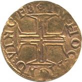 ポルトガル セバスティアン1世 500レイス金貨[-EF]