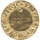 ポルトガル ジョアン3世 1クルザード金貨[F]