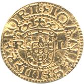 ポルトガル ジョアン3世 1クルザード金貨[F]【裏面】