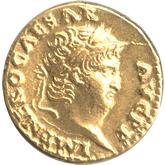 帝政ローマ  第5代皇帝ネロ アウレウス金貨[EF]
