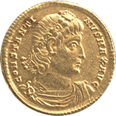 帝政ローマ  コンスタンティヌス1世 ソリドゥス金貨[EF]