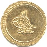 オスマン帝国 第29代皇帝ムスタファ4世 1アルティン金貨[EF]