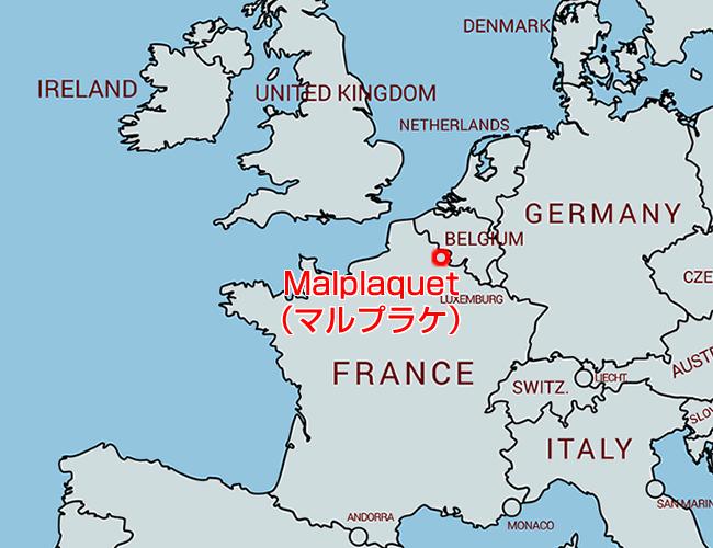 マルプラケの地図