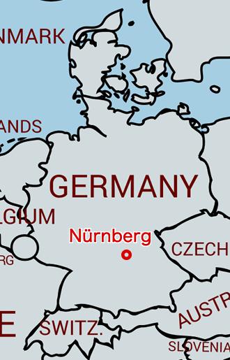 ニュルンベルク地図