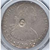 イギリス バンクオブイングランド ジョージ3世  1ドル銀貨[VF+/EF]