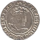 イギリス ヘンリー8世 グロート銀貨[VF]