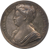 イギリス キャロライン王妃記念銀メダル[Tone EF]