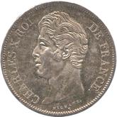 フランス ルイ18世 5フラン銀貨[Tone UNC]